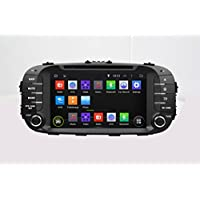 8 Android 6.0 Soul DVD Player Otca Quad Car GPS Navi For KIA 2014 SOUL With Car Stereo Radio WIFI Bluetooth Steering Wheel Control