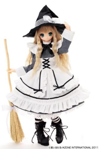 EX Cute 8th Series Witch Girl Koron / Little Witch of the Wind (1/6 scale Fashion Doll) [JAPAN]