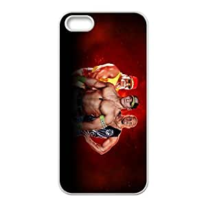 COOL Creative Desktop WWE CASE For iPhone 5, 5S Send tempered glass screen protector Q75D803190