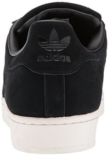 adidas Originals Herren Superstar Foundation Casual Sneaker Schwarz Wildleder / Schwarz / Schwarz