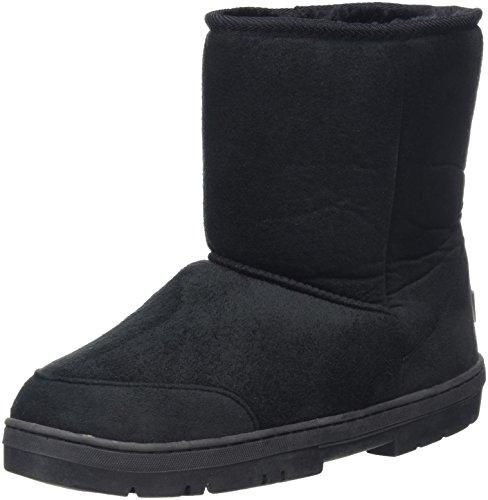 Holly Womens Original Short Classic Waterproof Winter Rain Snow Boots Black