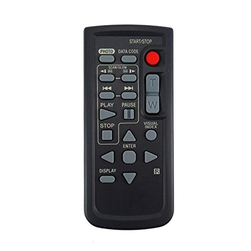 Universal Replacement Remote Control Fit for Sony HDR-PJ50E HDR-PJ600E HDR-XR100E HDR-XR105E DVD Handycam Camcorder (1pc)