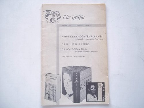 The Griffin (Summer 1962 Vol. 11 No. 7)