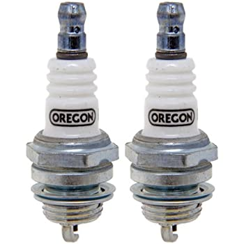 Oregon (2 Pack) 77-301-1-2pk Spark Plug Replaces Bosch W9EO Champion J19LM NGK B4LM