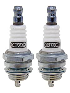 Oregon (, 2Unidades 77–317–1-2pk RPL de bujías Champion J8C, Bosch W8e, NGK B6S