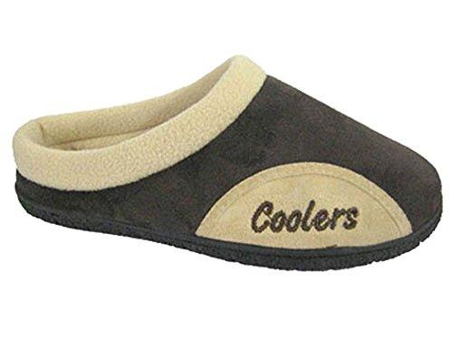 CoolersCoolers - Sandalias con cuña hombre Marrón - marrón