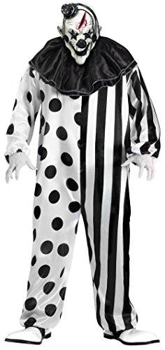 FunWorld Killer Clown Complete, Black/White, One Size]()