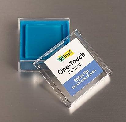 WINYL WOT-P Limpiador sólido para Agujas de Tocadiscos, Polímero ...