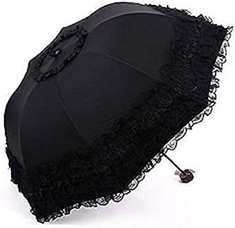 مظلة -للجنسين اسود