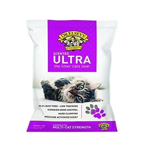 Bag Clumping 40lb Cat Litter (Dr. Elsey's Precious Cat Ultra Scented Litter Bag, 40 lb)