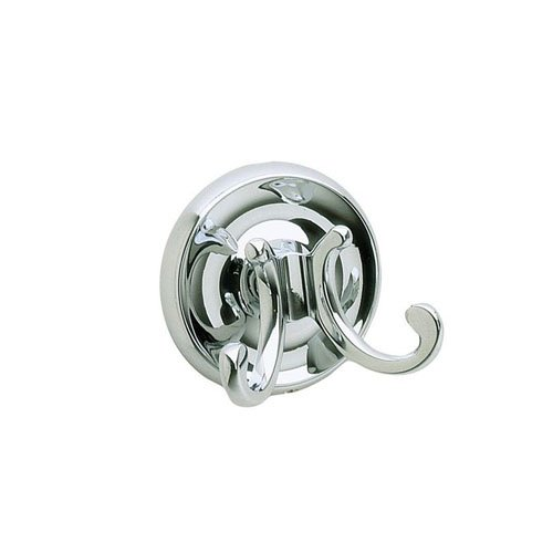 Smedbo Double Towel (Smedbo SME_K256 Double Towel Hook, Polished Chrome)