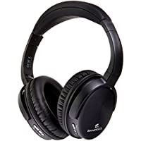 SoundPEATS A1 Bluetooth 4.1 Headphones with Built-in Mic and 12 Hour Battery, Black