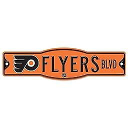 NHL Philadelphia Flyers 27872010 Street/Zone Sign, 4.5\