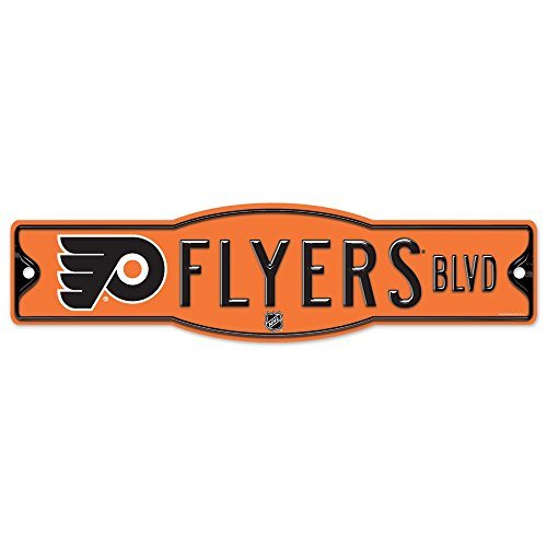 NHL Philadelphia Flyers 27872010 Street/Zone Sign, 4.5