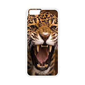 [Funny Series] IPhone 6 Case Jaguar, Cheap Iphone 6 Cases for Girls Okaycosama - White