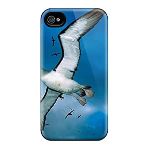 Tpu BrandonSabado Shockproof Scratcheproof Seagull Flying Over Hard Case Cover For Iphone 4/4s
