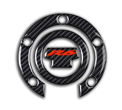 D-Power 3D Real Carbon Fiber Look Tank Gas Cap Pad for sale  Delivered anywhere in USA