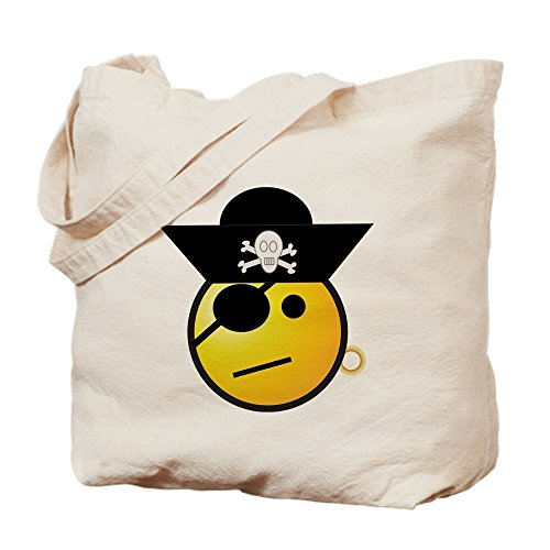 Disney Cruise Deck - Truly Teague Tote Bag Smiley Face Pirate