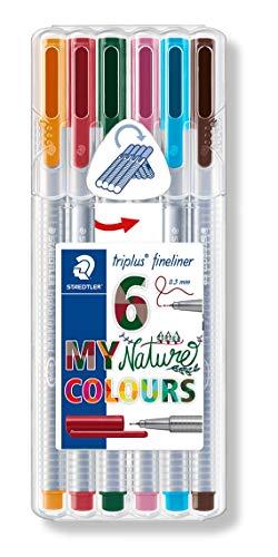 Triplus Fineliner Nature Colours