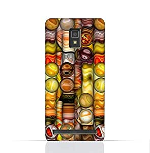 Lenovo A3690 TPU Silicone Case With Abstract Bubble Background