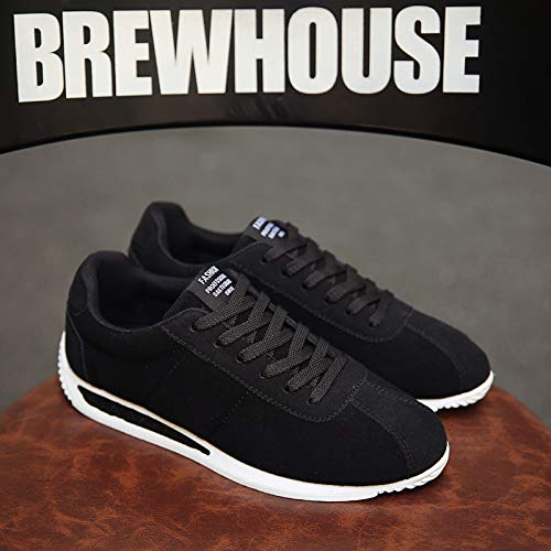 Men's Leisure Shoes Fashion Classic Trend Suede Agan Nanxieho Comfortable Sneakers Awz0z