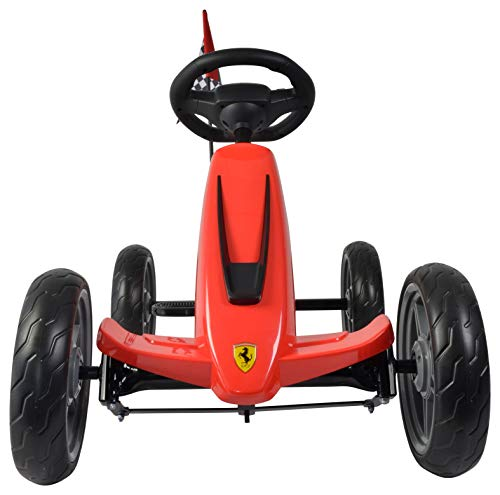 - Ferrari Pedal Go-Kart, Red