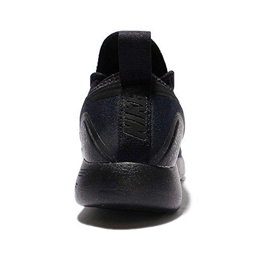 Nike Mens Lunarcharge Essential, BLACk / DARK OBSIDIAN-VOLT, 9 M US