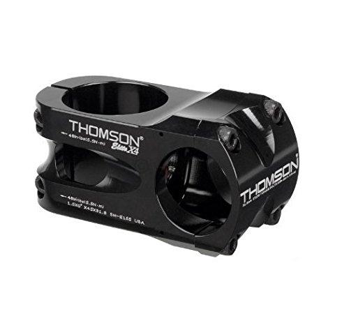 Bolt Thomson - Thomson Bike Products X4 Four Bolt Aluminum Alloy 0O x 40 x 31.8mm Black X4 Bike Stem