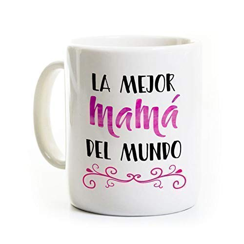 La Mejor Mama Coffee Mug - Spanish Best Mom Mother in the World - 11 Ounce