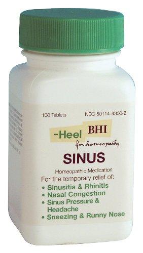 BHI - Sinus, 100 sublingual tablets