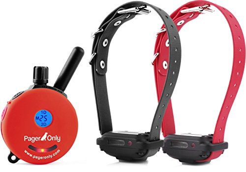 Educator Pager Only 1/2 Mile 2 Dog System Remote Training Collar