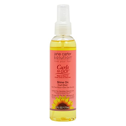 Jane Carter Curls to Go Shine On Curl Elixir 6oz / 177ml