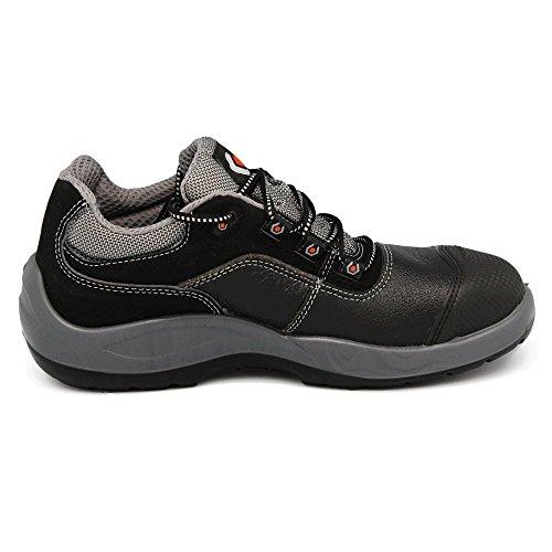 Base S3Src Seguridad zapato de trabajo (–libre de metal unisex negro