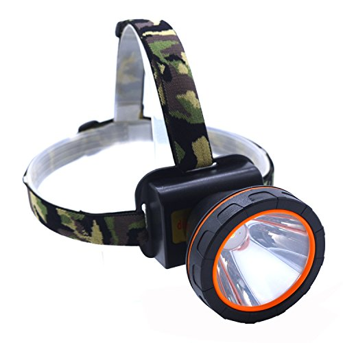 Eornmor 3000 Lumen Outdoor Super Bright CREE LED Headlamp 18650 Rechargeable headlight flashlights Waterproof Head Lights torch for Camping Hiking hunting Fishing