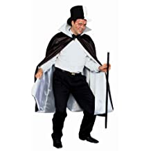 Forum Reversible Phantom Costume Cape 56-Inches