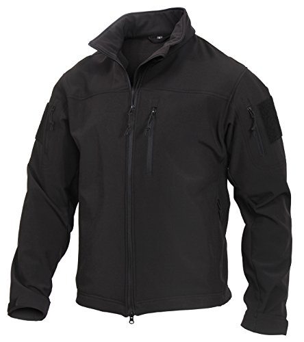 Rothco Stealth Ops Soft Shell Tactical Jacket, 3XL by Rothco