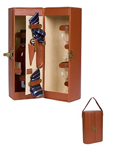 145-leatherette-wine-case-carrier-for-one-bottle-with-accessories-by-trademark-innovations