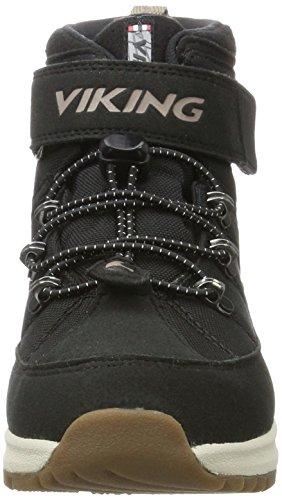 Viking Fosser, Baskets Hautes Mixte Adulte, Noir (Noir/Grey), 41 EU