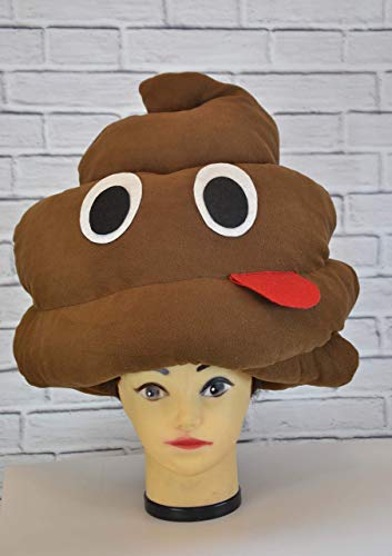 (Poop hat Party kids hat Funny adult headpiece for men Poop hat Festival fantasy hair piece for)