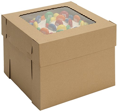 W PACKAGING WPCKB1012KP 10x10x12 Kraft/Kraft Plain 12