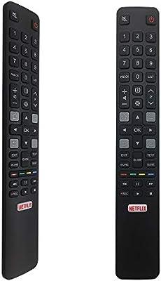 MYHGRC RC802N es el reemplazo RCA TCL Smart TV 40DS500 43DP640 F40S5916 F43S5916 H32S5916 U43P6006 U49P6016 U55P6016 U55P6046 U60P6026 06-IRPT45-GRC802N S6 S6000 S6500 Series S6500 S600: Amazon.es: Electrónica
