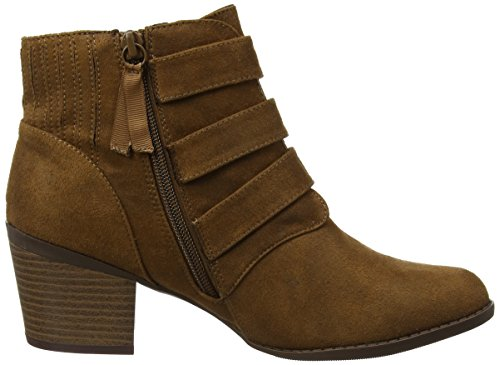 Dorothy Perkins Women's Angela Buckle Chelsea Boots Brown (Brown) mYOydwm