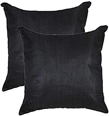 Home Decor Pillow Throw Solid Dupion Silk Cushion Cover Case Choose Size