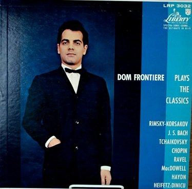 Price comparison product image Dom Frontiere Plays The Classics Liberty Records LP
