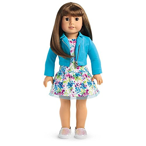 American Girl - 2017 Truly Me Doll: Light Skin, Brown Hair with Bangs, Brown Eyes DN13