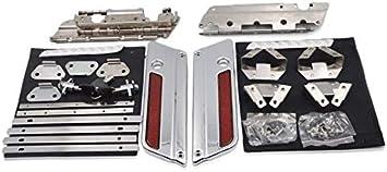 Saddlebag Latch Hardware Lock Set Fit for Harley Touring Street Glide 1993-2013