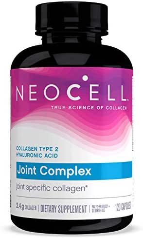 NeoCell Joint Complex, Type 2 Hydrolyzed Collagen Plus Joint & Cartilage Support - 120 Capsules (Packaging May Vary)