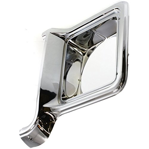 Diften 168-C4609-X01 - New Headlight Door/Bezel Driver Left Side Chrome Blazer Full Size Truck Chevy LH ()