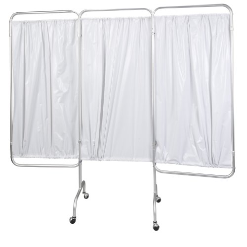 Drive Medical 3 Panel Privacy Screen, White by Drive Medical (Image #1)