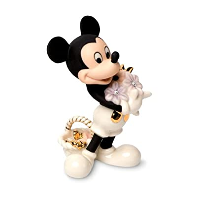 Lenox Mickey's Flowers For You